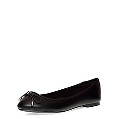 Dorothy Perkins - Wide fit black 'willow' pumps