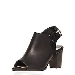 Dorothy Perkins - Black weep peep toe boots