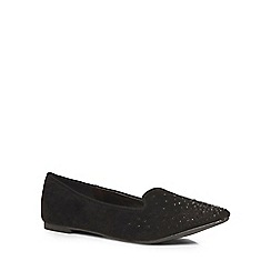 Dorothy Perkins - Wide fit black 'wowdy' pumps
