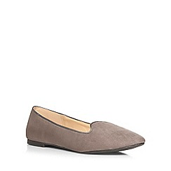 Dorothy Perkins - Wide fit grey 'wonder' pumps