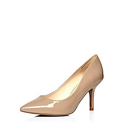 Dorothy Perkins - Wide fit brown 'wyat' courts