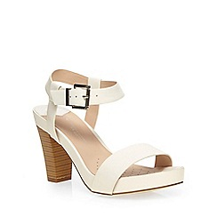 Dorothy Perkins - White'whip'mid wide fit sandal