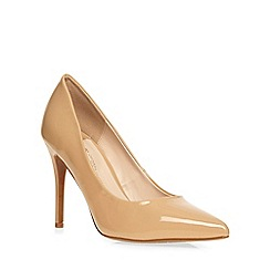 Dorothy Perkins - Nude 'wiggle' wide fit court