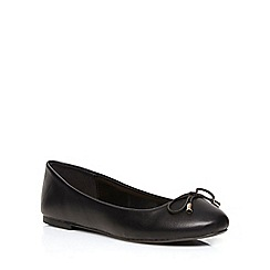 Dorothy Perkins - Wide fit black 'willowy' pumps