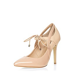 Dorothy Perkins - Blush pointed wide fit courts