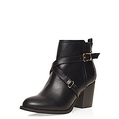 Dorothy Perkins - Wide fit black wava boots