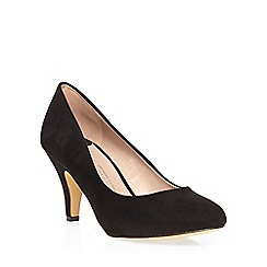 Dorothy Perkins - Black wilamina wide court shoes