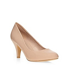 Dorothy Perkins - Nude wide fit courts