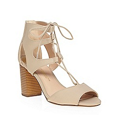 Dorothy Perkins - Stone 'woody' ghillie wide fit