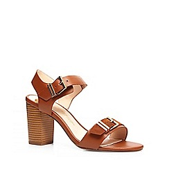 Dorothy Perkins - Tan 'watermelon' sandals