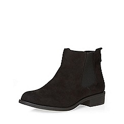 Dorothy Perkins - Wide fit black whammy boots