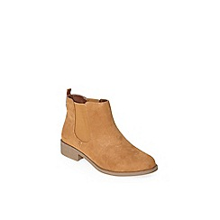 Dorothy Perkins - Wide fit tan whammy boots