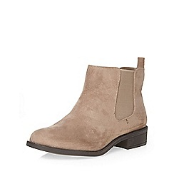 Dorothy Perkins - Wide fit mink 'whammy' boots