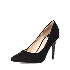 Dorothy Perkins - Wide fit black court shoe