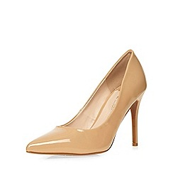 Dorothy Perkins - Wide fit nude court shoe