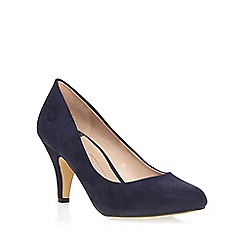 Dorothy Perkins - Wide fit navy 'wilamina' mid courts