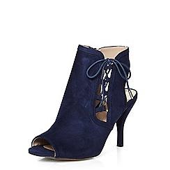 Dorothy Perkins - Wide fit navy wishful sandal