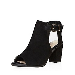 Dorothy Perkins - Black weeps coverage sandals