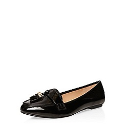 Dorothy Perkins - Black wipa tassel loafers