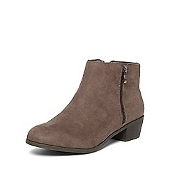Dorothy Perkins - Grey 'wrapy' prairie boots