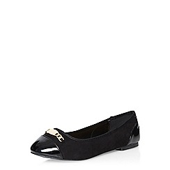 Dorothy Perkins - Black wixy hardware pumps
