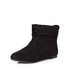 Dorothy Perkins - Black wegan wide fit boots