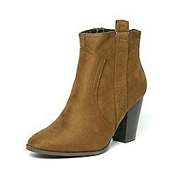 Dorothy Perkins - Green 'alicee' heel boots