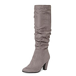Dorothy Perkins - Wide fit grey 'Wynter' boots