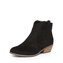 Dorothy Perkins - Black 'Madds' wide fit boots