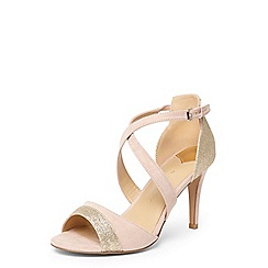 Dorothy Perkins - Wide fit blush 'sasha' sandals