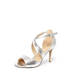 Dorothy Perkins - Wide fit silver 'sasha' sandals