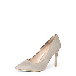 Dorothy Perkins - Wide fit grey 'emily' courts