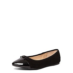 Dorothy Perkins - Wide fit black 'Polly' pumps