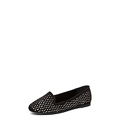 Dorothy Perkins - Wide fit black 'Perl' pumps