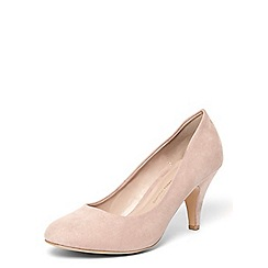 Dorothy Perkins - Wide fit pink 'wilamina' courts