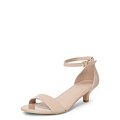 Dorothy Perkins - Nude wide fit 'sundae' sandals