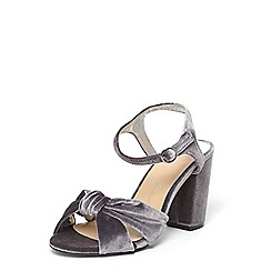 Dorothy Perkins - Wide fit exclusive grey 'savvy' sandals