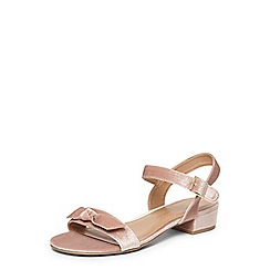 Dorothy Perkins - Wide fit blush 'friday' sandals