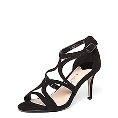 Dorothy Perkins - Wide fit black 'Sienna' sandals