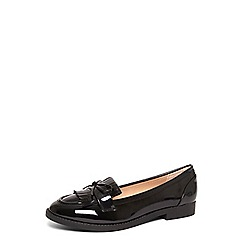 Dorothy Perkins - Black wide fit 'lotty' loafers