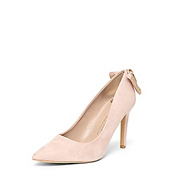 Dorothy Perkins - Wide fit exclusive blush 'esta' court shoes