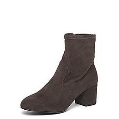 Dorothy Perkins - Wide fit grey 'Allstar' boots