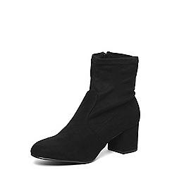 Dorothy Perkins - Wide fit black 'Allstar' boots