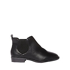 Dorothy Perkins - Wide fit black 'Moon' ankle boots
