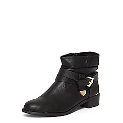 Dorothy Perkins - Wide fit black 'Mylie' boots