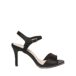 Dorothy Perkins - **showcase wide black 'Senorita' sandals