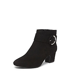 Dorothy Perkins - Wide fit black 'ace' ankle boots