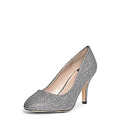 Dorothy Perkins - Wide fit pewter 'claudia' court shoes