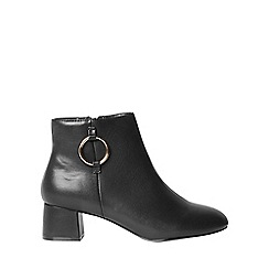 Dorothy Perkins - Wide fit anita ring detail boots