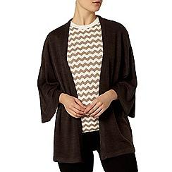 Dorothy Perkins - Charcoal kimono cardigan